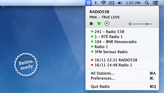 Radio for Mac